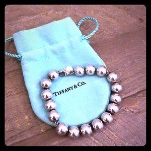 Tiffany Silver Ball Bracelet